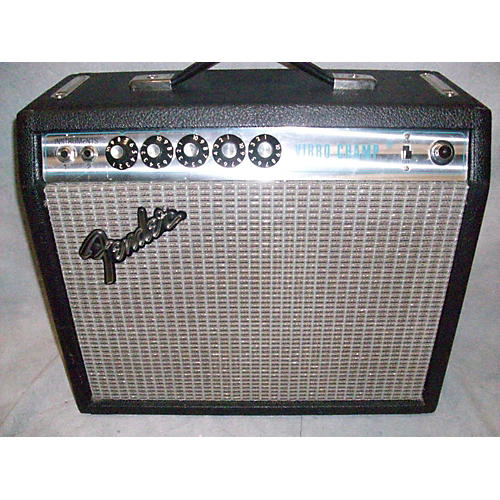 Fender 1977 Vibro Champ Tube Guitar Combo Amp-thumbnail