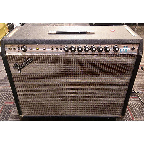 Fender 1978 Twin Reverb 2x12 Tube Guitar Combo Amp