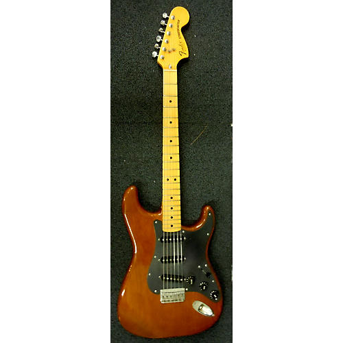 Fender 1979 Stratocaster HT Brown Solid Body Electric Guitar