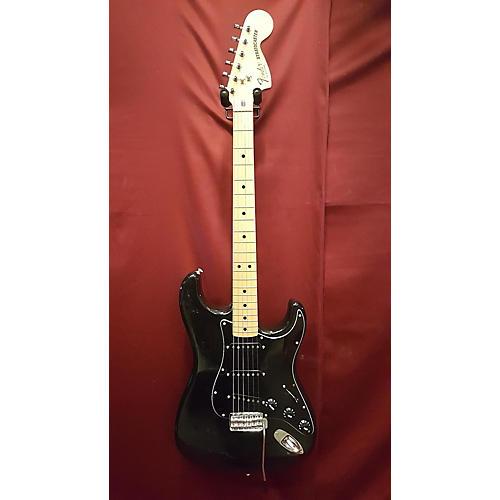 vintage fender 1980 stratocaster solid body electric guitar black guitar center. Black Bedroom Furniture Sets. Home Design Ideas