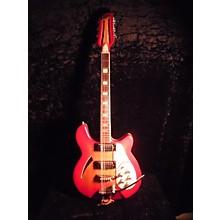 ENCORE 1980S Semi Hollow Hollow Body Electric Guitar