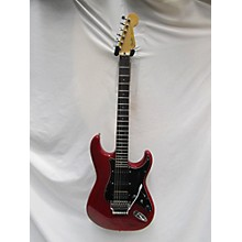 Fender 1980s 1980's Fender HM Strat Trans Red Solid Body Electric Guitar