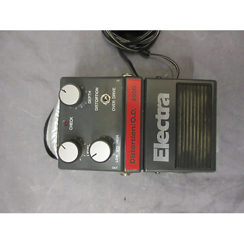 Electra 1980s 600D Distortion/O.D. Effect Pedal