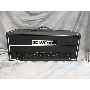 Vintage Hiwatt 1980s Bass 100 Tube Guitar Amp Head by Hiwatt