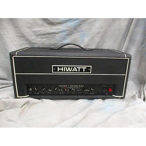 vintage hiwatt 1980s bass 100 tube guitar amp head guitar center. Black Bedroom Furniture Sets. Home Design Ideas