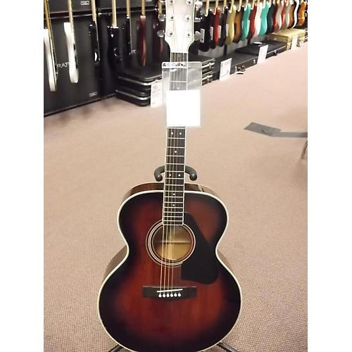 Yamaha 1980s CJ-818SB Acoustic Guitar 2 Color Sunburst