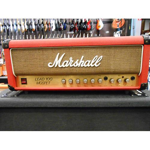Marshall 1980s Lead 100 Mosfet 3200 Ltd Ed. Red Guitar Amp Head-thumbnail