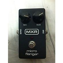 MXR 1980s MICRO FLANGER Effect Pedal