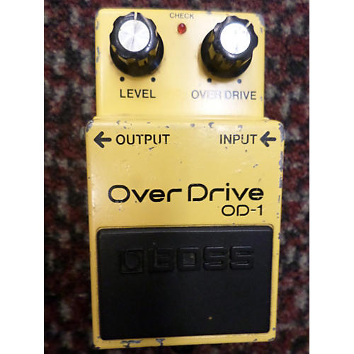 Boss 1980s OD1 Overdrive Effect Pedal