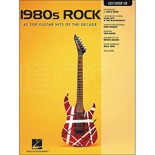 Hal Leonard 1980s Rock Easy Guitar Tab-thumbnail