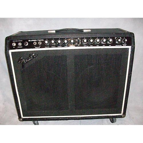 Fender 1980s Super Twin Tube Guitar Combo Amp-thumbnail
