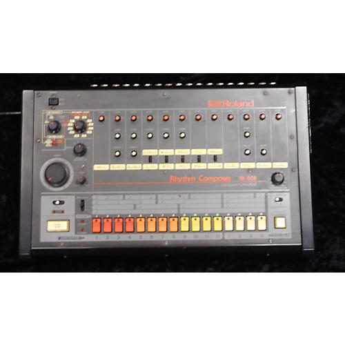 vintage roland 1980s tr 808 drum machine guitar center. Black Bedroom Furniture Sets. Home Design Ideas