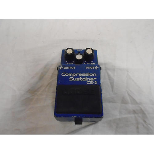 Boss 1981 CS2 Compressor Sustainer Effect Pedal