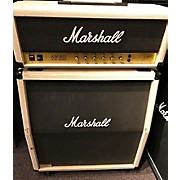 Marshall 1982 JCM Model 2204 20th Anniversary Whit W/ Matching Cab