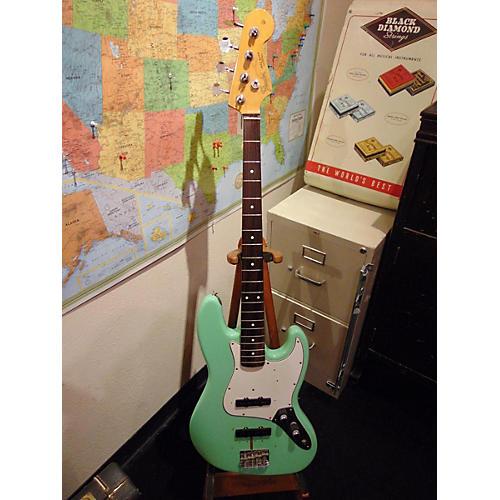 Fender 1983 Fender '62 Re-issue Jazz Bass Surf Green OHSC Electric Bass Guitar-thumbnail