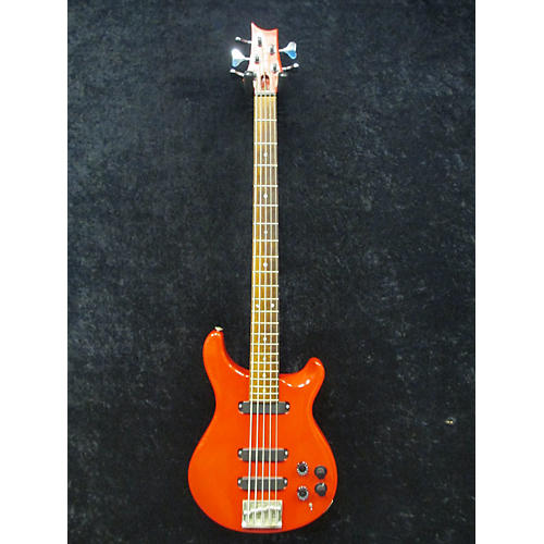 PRS 1986 Bass 5 Electric Bass Guitar Red