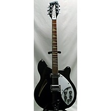 Rickenbacker 1990 360/12 Jetglo OHSC Hollow Body Electric Guitar