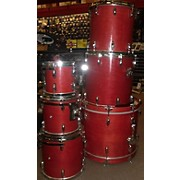 Miscellaneous 1990s 90s Birch Complete Kit Drum Kit