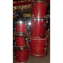 Miscellaneous 1990s 90s Birch Complete Kit Drum Kit