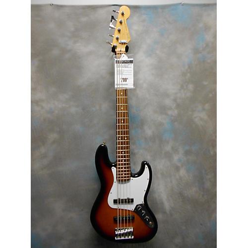 vintage fender 1991 american standard jazz bass v 5 string electric bass guitar 2 color sunburst. Black Bedroom Furniture Sets. Home Design Ideas