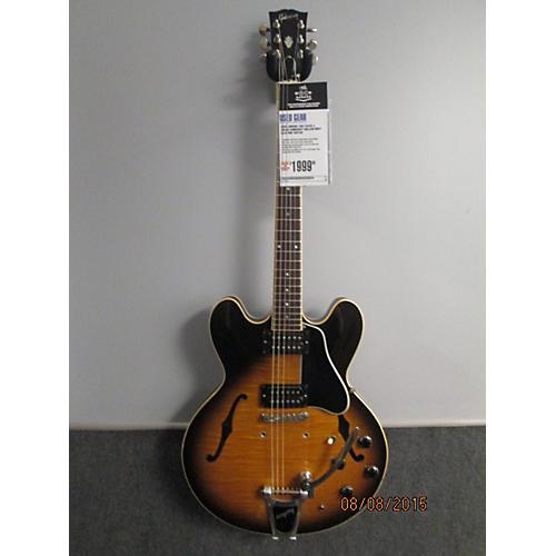 Gibson 1992 ES335 Hollow Body Electric Guitar 2 Color Sunburst