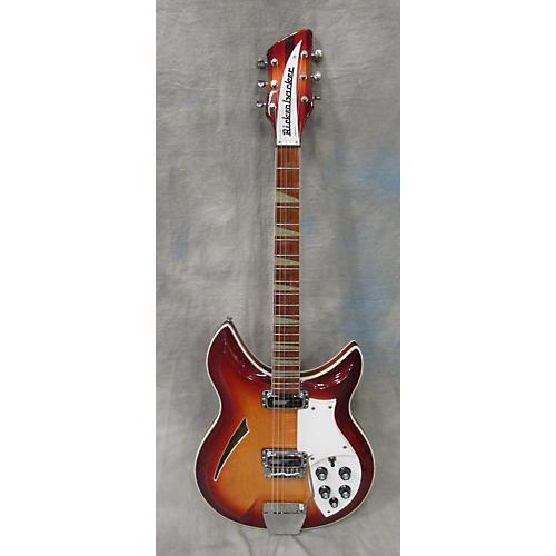 Rickenbacker 1994 381V69 Hollow Body Electric Guitar Fireglo