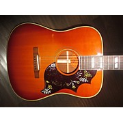 Gibson 1995 Hummingbird Square Shoulder Acoustic Electric Guitar