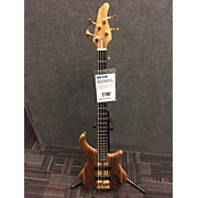 Pedulla 1997 Thunder Bass Exotic Zebra Wood Top Electric Bass Guitar