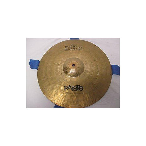 Paiste 1998 14in Sound Formula Medium Heavy Hi Hat Pair Cymbal