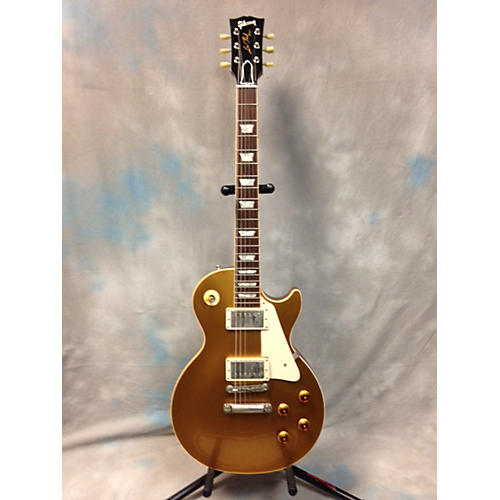 Gibson 1998 1957 Reissue Les Paul Gold Top Solid Body Electric Guitar
