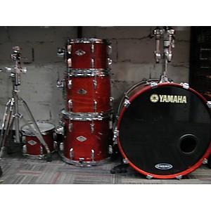Pre-owned Yamaha 1999 Beech Custom Drum Kit by Yamaha