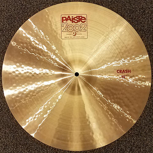 Paiste 19in 2002 Crash Cymbal-thumbnail