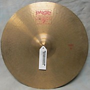 Paiste 19in 2002 Ride Cymbal