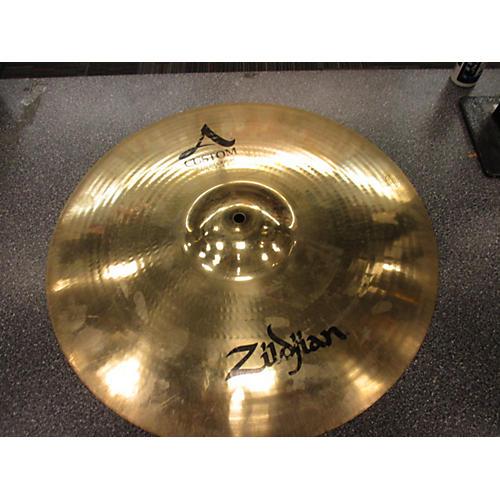 Zildjian 19in A Custom Medium Crash Cymbal-thumbnail