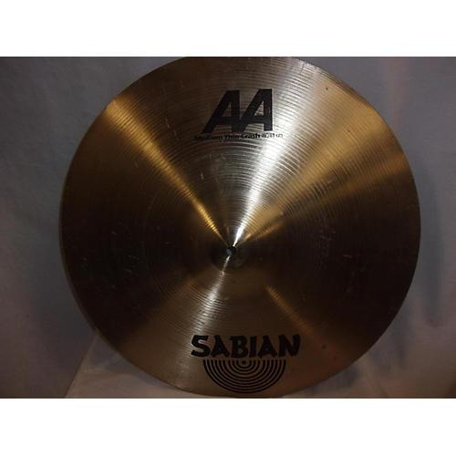Sabian 19in AA Medium Thin Crash Cymbal