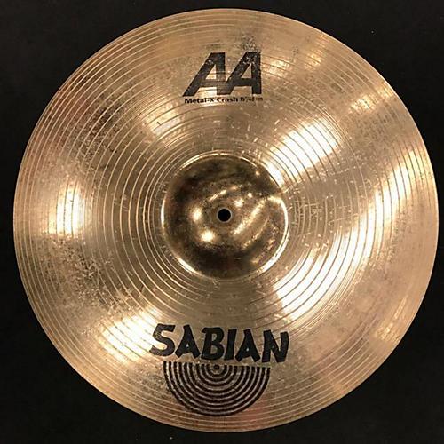 Sabian 19in AA Metal X Crash Brilliant Cymbal-thumbnail