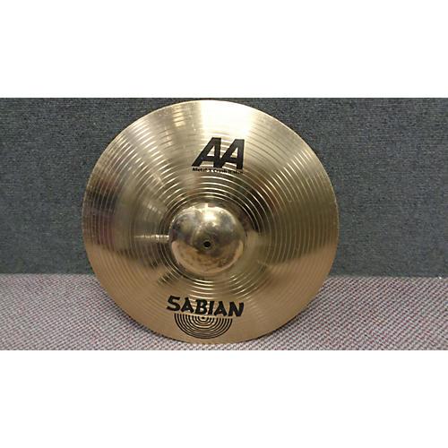 Sabian 19in AA Metal X Crash Brilliant Cymbal