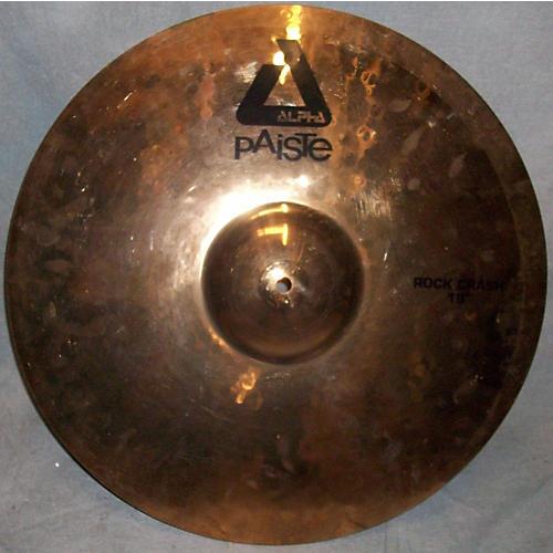 Paiste 19in ALPHA ROCK CRASH Cymbal