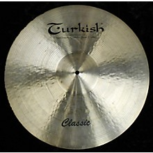 Turkish 19in CLASSIC Cymbal