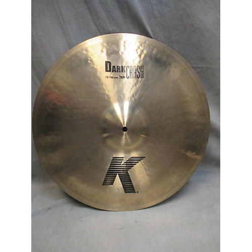 Zildjian 19in K Custom Dark Crash Cymbal-thumbnail