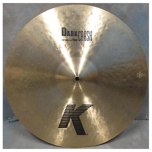 Zildjian 19in K Thin Dark Crash Cymbal