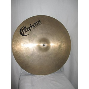 Pre-owned Bosphorus Cymbals 19 inch M18C Master Crash Cymbal by Bosphorus Cymbals