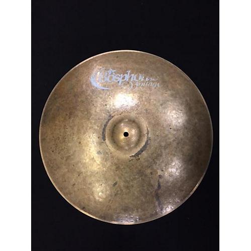 Bosphorus Cymbals 19in MASTER VINTAGE Cymbal