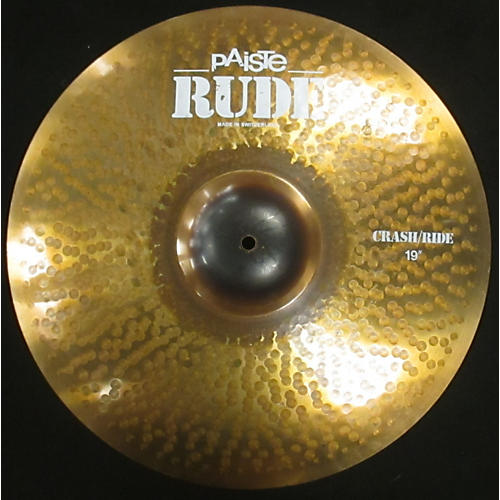 Paiste 19in Rude Classic Crash Ride Cymbal-thumbnail