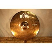 Paiste 19in Rude Classic Crash Ride Cymbal