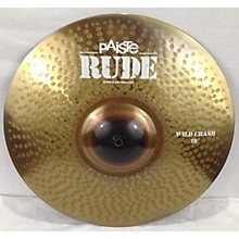 Paiste 19in Rude Wild Crash Cymbal