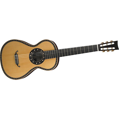 Aria 19th Century Nylon-String Acoustic Guitar-thumbnail