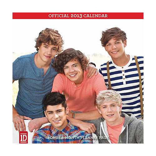 Browntrout Publishing 1D 2013 Square 12x12 Wall Calendar