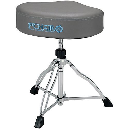 Tama 1st Chair Ergo-Rider Drum Throne in Stone Grey Finish