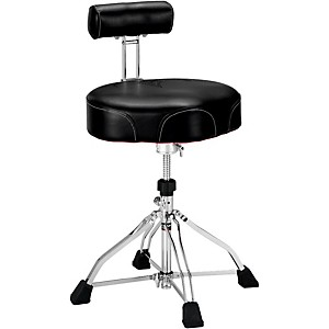 Tama 1st Chair Ergo-Rider Drum Throne with Backrest by Tama
